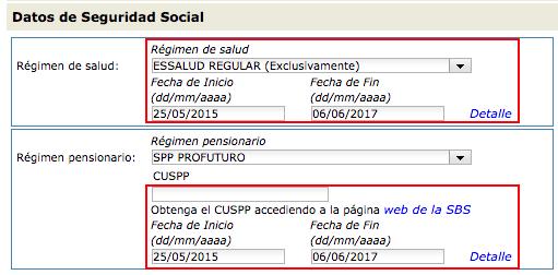 Seguridad Social T-Registro