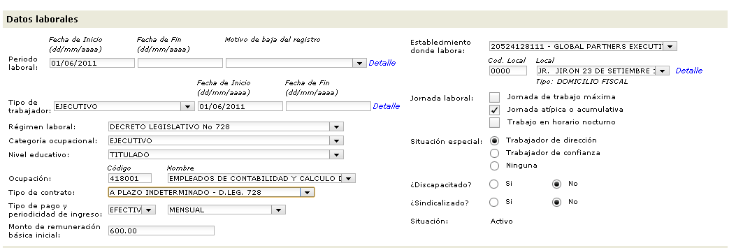 t registro10 Como llenar el T Registro