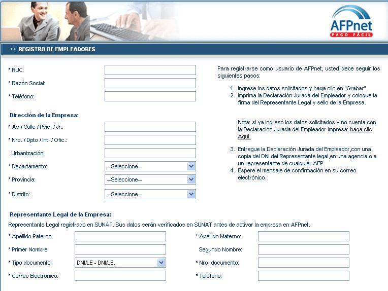 0 ¿Cómo llenar el AFP NET?