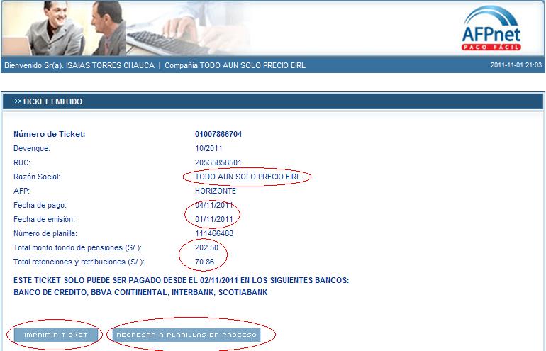 8 ¿Cómo llenar el AFP NET?