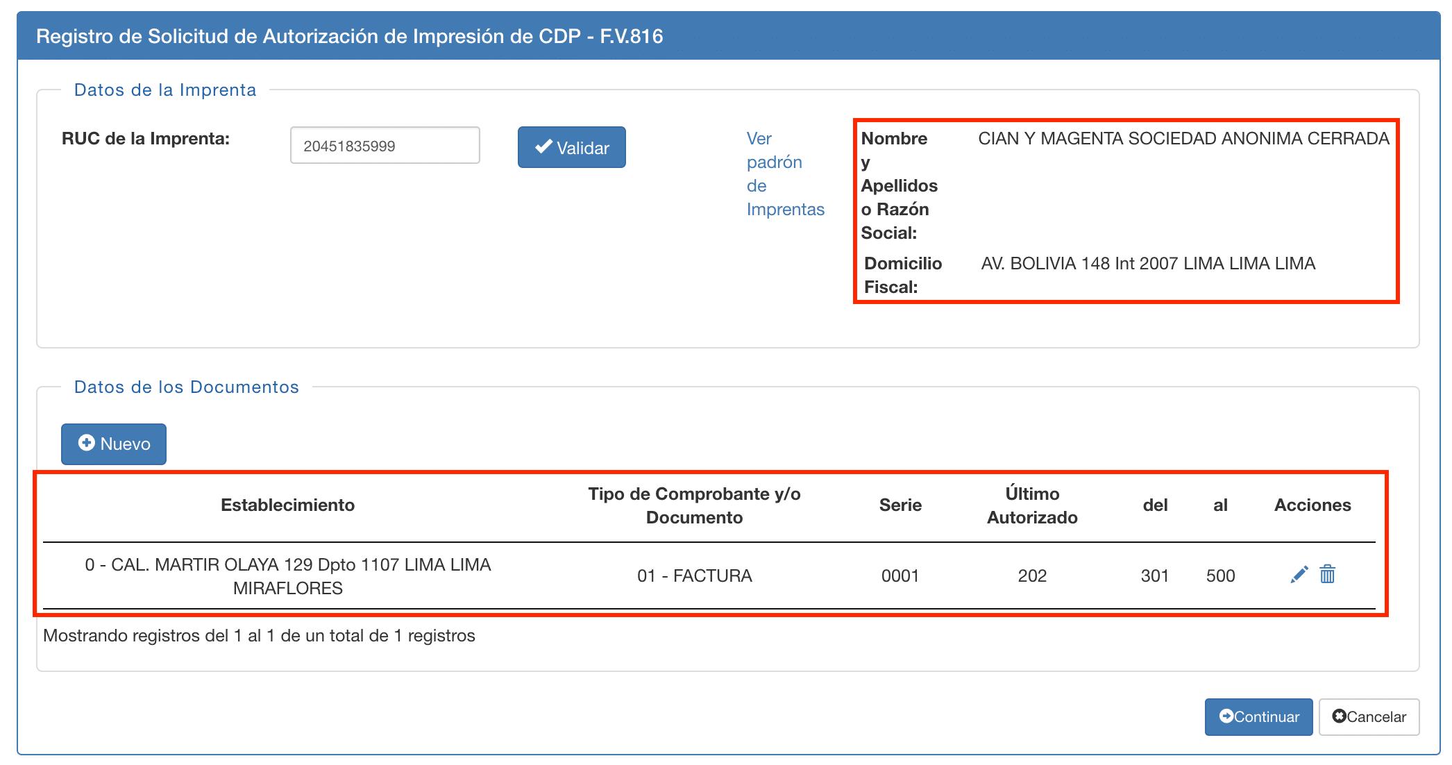 formulario virtual 816