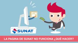 La Pagina de Sunat no funciona Que hacer