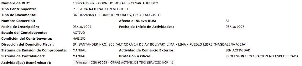 Captura de pantalla 2014 12 02 a las 1.30.40 Las boletas de Ventas – Gasto Deducible para el Impuesto a la Renta