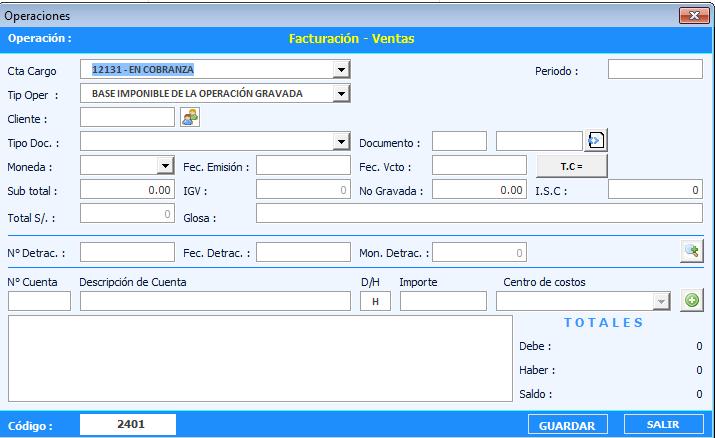 Sistema Contable en Excel