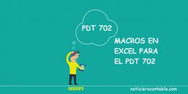 Macros en Excel PDT 702