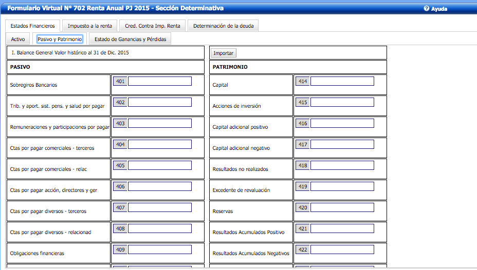 Sunat – Renta Anual 2015 Tercera Categoría - Noticiero Contable
