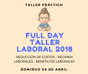 Taller Práctico FULL DAY Laboral 2018