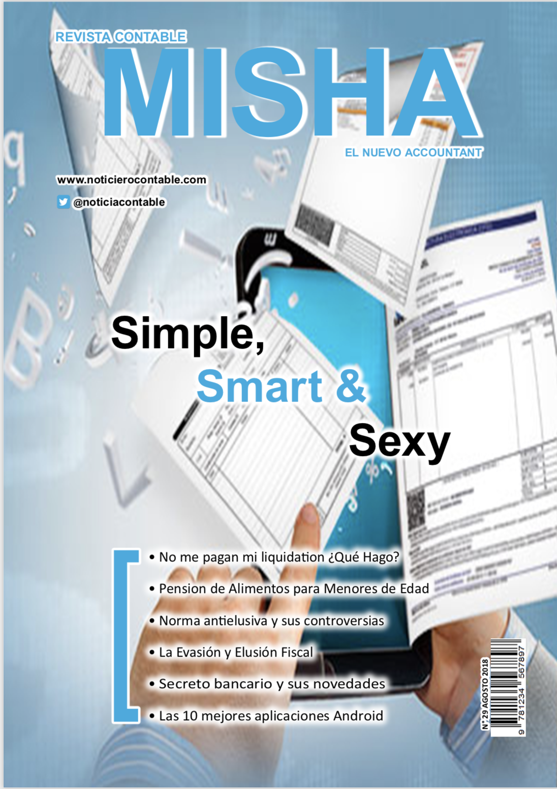Revista Contable Misha Agosto 2018