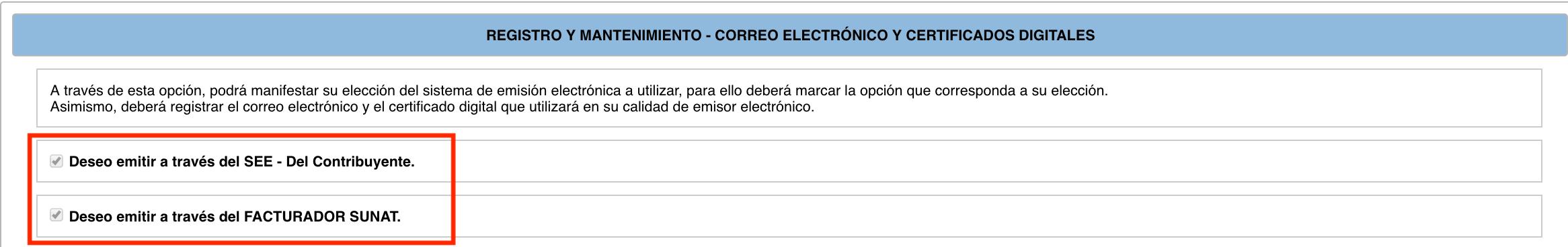 Sistema de Emision Electronica
