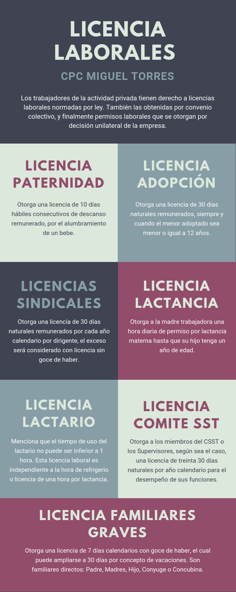 Licencias Laborales