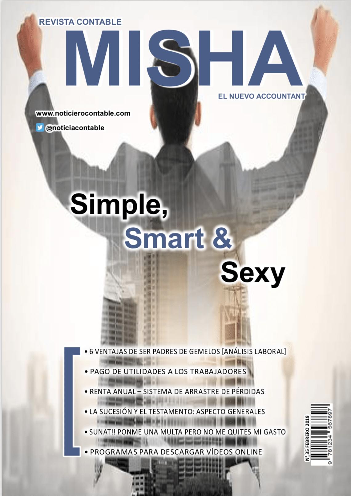 Revista Contable Misha Febrero 2019