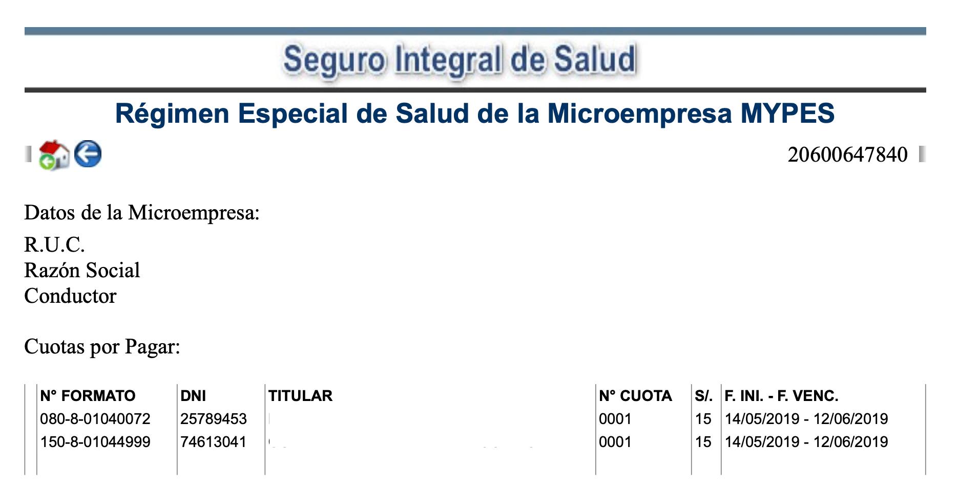 SIS Microempresas