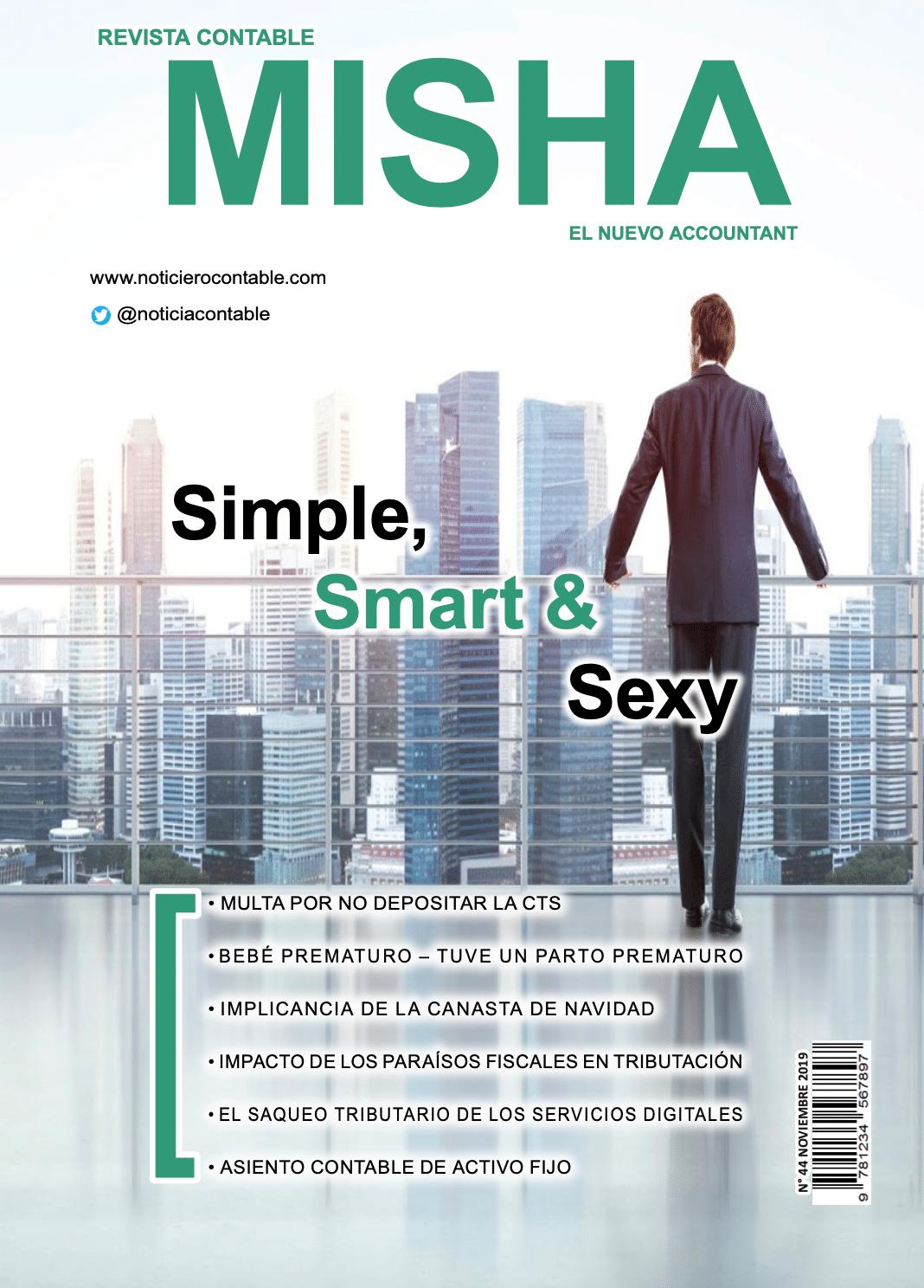 Revista Contable Misha Noviembre 2019