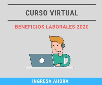 Curso Virtual Beneficios Laborales 2020