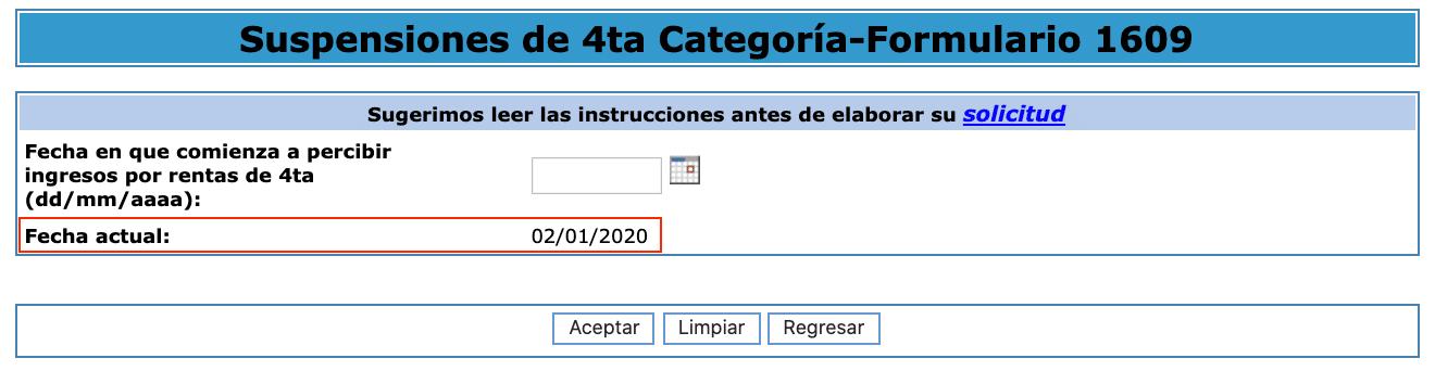 suspension de cuarta 2020 fecha de ingreso