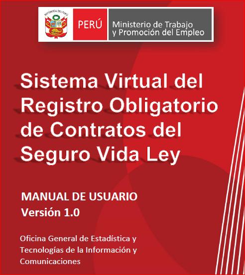 Sistema Virtual del Registro Obligatorio de Contratos de Seguro de Vida Ley