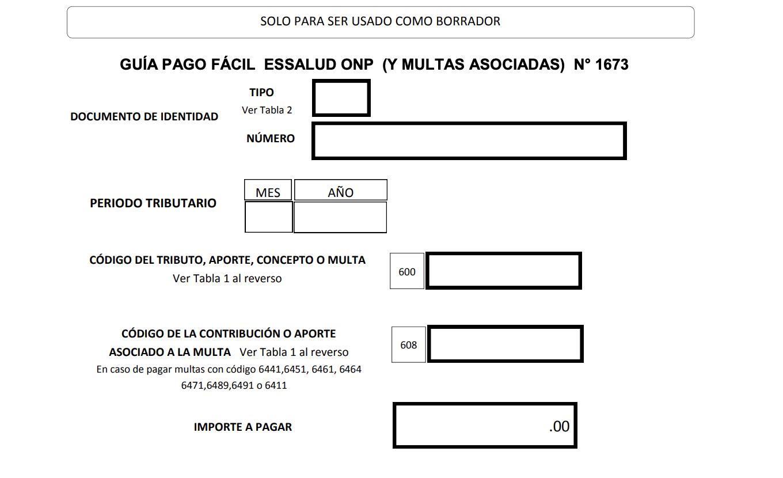 Guia Pago Facil 1673