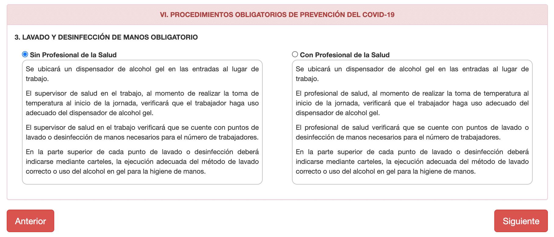 Registro PLan COVID CENSOPAS-19