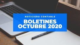 boletines empresarial octubre 2020