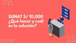 Escudos Fiscales - SUNAT 10000 soles cuentas bancarias