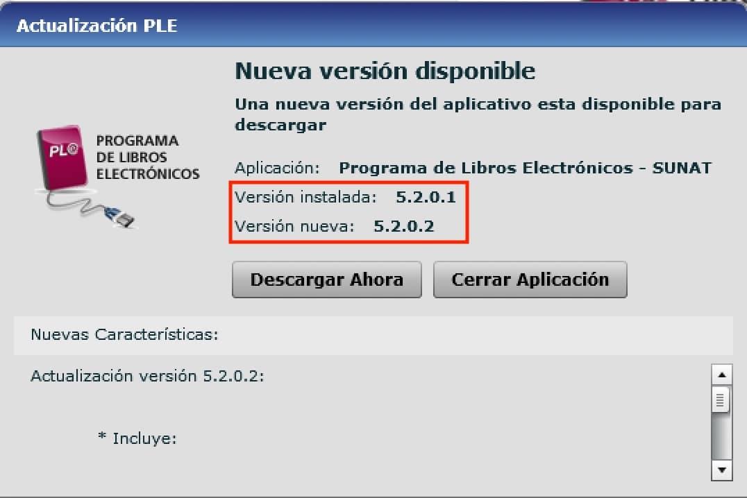 ultima version del PLE 5.2.0.2 2021