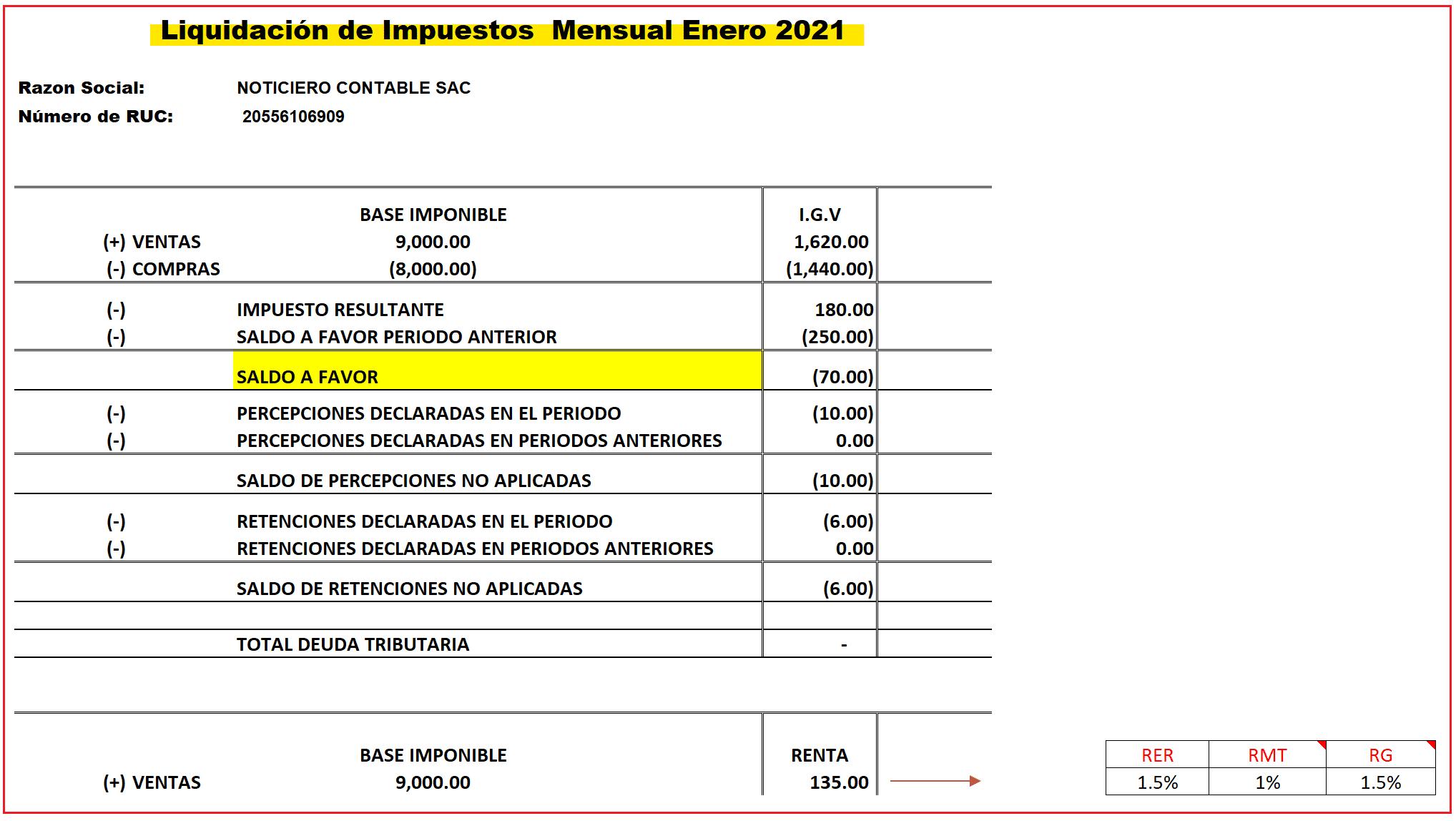 Macros Excel Liquidacion Impuesto Mensual
