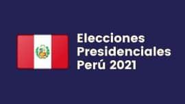 Elecciones Presidenciales Peru