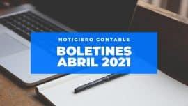 boletines abril 2021