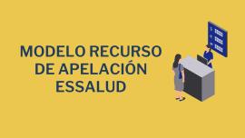 Modelo Recurso de Apelacion EsSalud